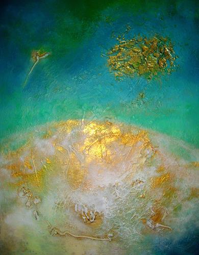 Silke Brandenstein, ...doch für irgendjemand bist Du die ganze Welt., Fantasy, Nature: Earth, Abstract Expressionism, Expressionism
