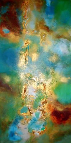 Silke Brandenstein, Paradiesduft, Symbol, Abstract Expressionism