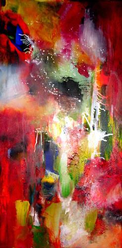 Silke Brandenstein, Bei meiner Seele, Emotions: Love, Fantasy, Abstract Expressionism, Expressionism