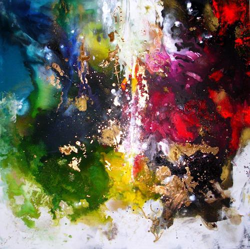 Silke Brandenstein, Geschenkte Zeit, Belief, Emotions: Love, Neue Wilde, Abstract Expressionism