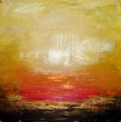 Silke Brandenstein, Wunder geschehen, Belief, Abstract Expressionism