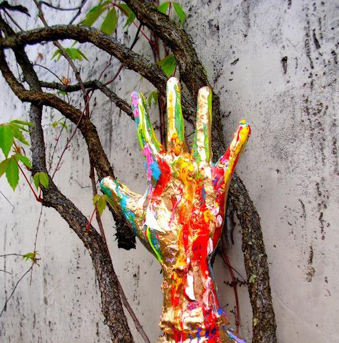 Silke Brandenstein, Liebe heilt alles, Symbol, Belief, Abstract Art, Abstract Expressionism