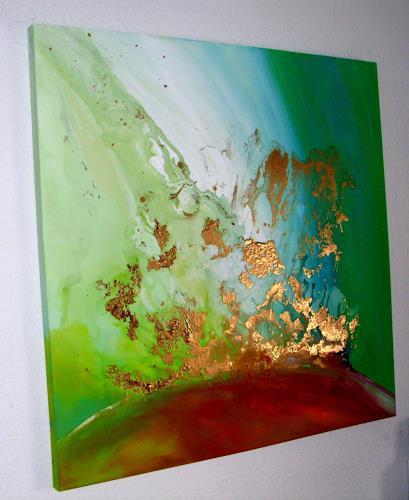 Silke Brandenstein, FreeSoul, Symbol, Belief, Abstract Expressionism