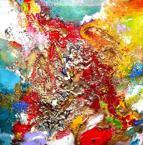 Silke Brandenstein, Etwas ins Leben bringen, Emotions: Love, Belief, Abstract Art, Abstract Expressionism