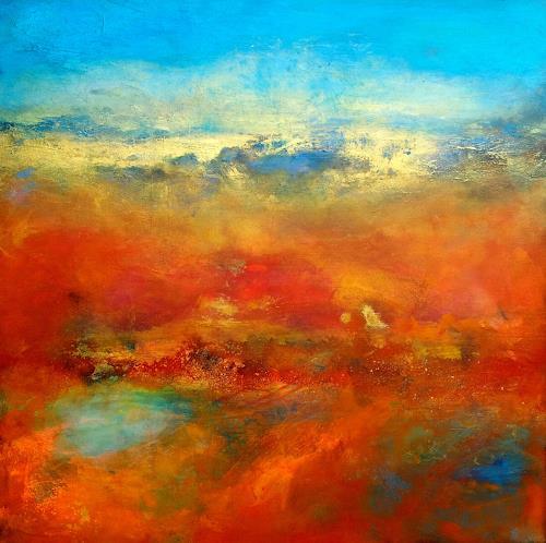 Silke Brandenstein, Nicht von dieser Welt, Belief, Abstract Art, Abstract Expressionism