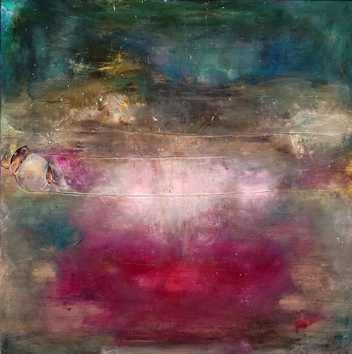 Silke Brandenstein, Zauberperle, Poetry, Symbol, Abstract Art, Expressionism