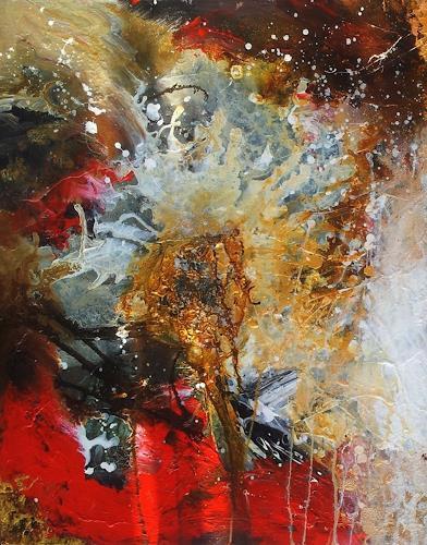 Silke Brandenstein, Weil Du meine Seele berührst... Teil I, Belief, Emotions: Love, Abstract Art, Abstract Expressionism