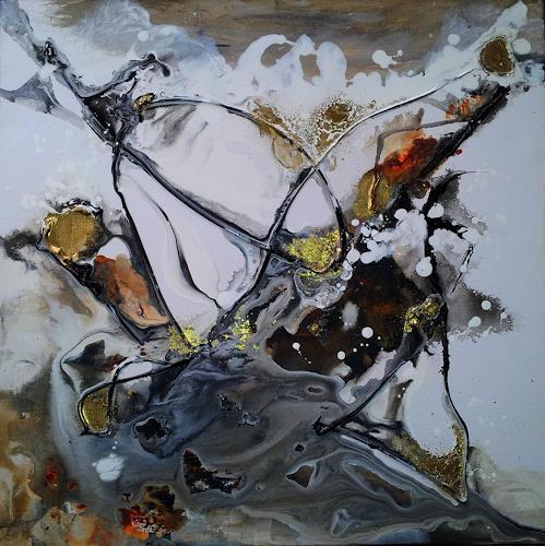Silke Brandenstein, Alles, was zählt..., Symbol, Belief, Abstract Art, Abstract Expressionism