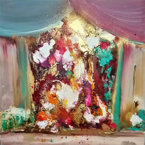 Silke Brandenstein, Bühne frei..., Circus, Fantasy, Contemporary Art, Expressionism