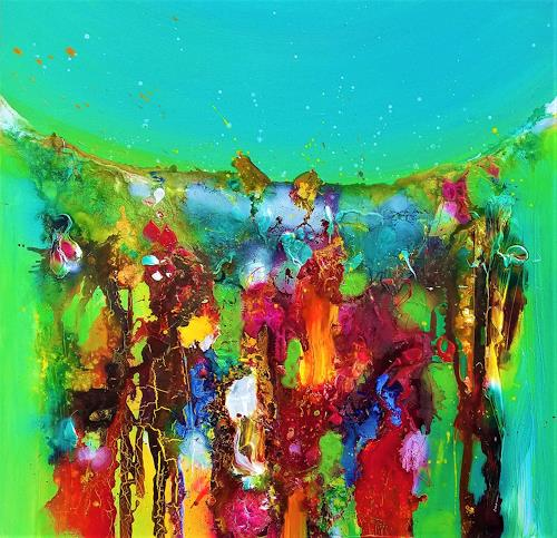 Silke Brandenstein, Don´t stop me now!, Belief, Fantasy, Abstract Expressionism
