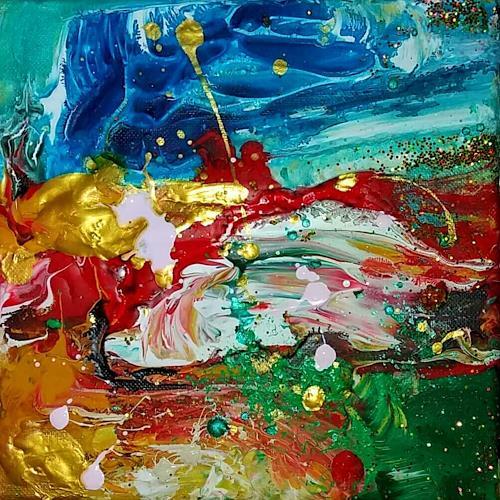 Silke Brandenstein, Mini Joy, Fantasy, Abstract Expressionism