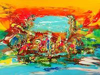 Joy-Silke-Brandenstein-Fantasy-Movement-Modern-Age-Expressionism-Abstract-Expressionism