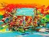 Joy Silke Brandenstein, Neti Neti, Fantasy, Movement, Abstract Expressionism