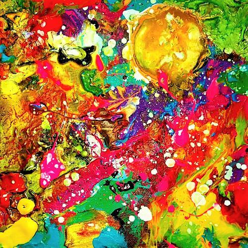 Silke Brandenstein, Sonnenkraft, Emotions: Joy, Abstract Expressionism