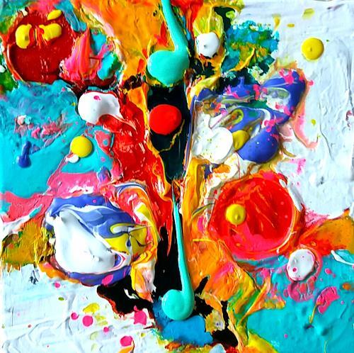 Silke Brandenstein, Lebensgeister Serie, Fantasy, Abstract Art, Abstract Expressionism