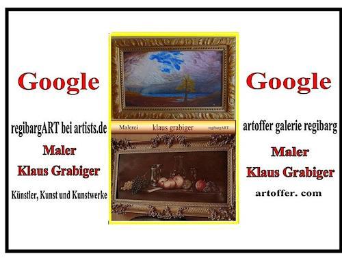 regibarg, Malerei Klaus Grabiger, Miscellaneous, Miscellaneous, Romanticism