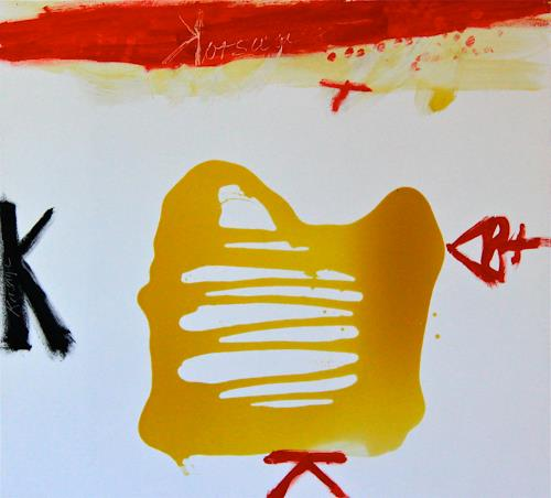 Rolf Blösch, Korsage, Abstract art