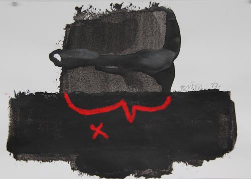 Rolf Blösch, O.T., Abstract art, Non-Objectivism [Informel], Abstract Expressionism