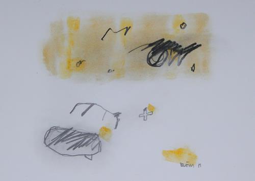 Rolf Blösch, O.T., Abstract art, Non-Objectivism [Informel]