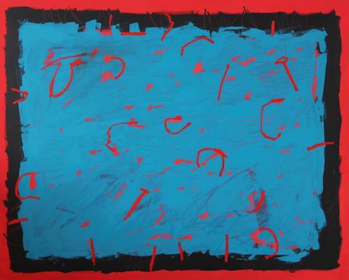 Rolf Blösch, 0.T., Abstract art, Poetry, Non-Objectivism [Informel]