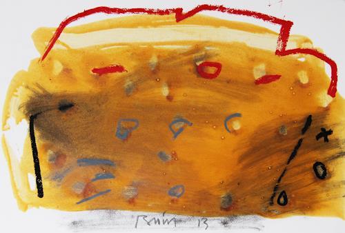 Rolf Blösch, o.T., Abstract art, Poetry, Non-Objectivism [Informel]