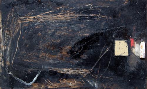 Rolf Blösch, o.T., Abstract art, Fantasy, Non-Objectivism [Informel]