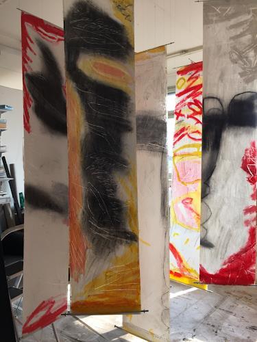 Rolf Blösch, OT, Abstract art, Poetry, Non-Objectivism [Informel]