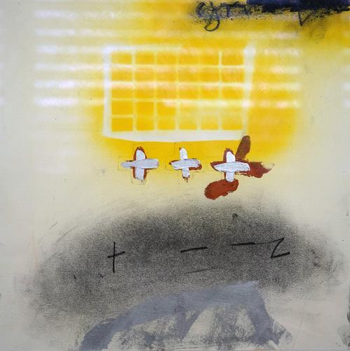 Rolf Blösch, ot., Abstract art, Emotions, Non-Objectivism [Informel]