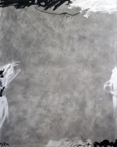 Rolf Blösch, OT, Abstract art, Emotions: Horror, Non-Objectivism [Informel]