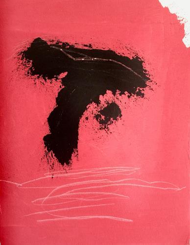 Rolf Blösch, Gesang der Geister über dem Wasser, Abstract art, Emotions, Abstract Art, Abstract Expressionism