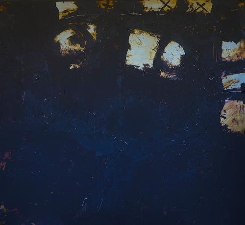 Rolf Blösch, 3x3, Abstract art, Fantasy, Non-Objectivism [Informel]