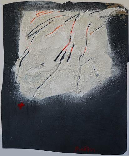 Rolf Blösch, viele Wege führen zu B, Abstract art, Fantasy, Non-Objectivism [Informel]