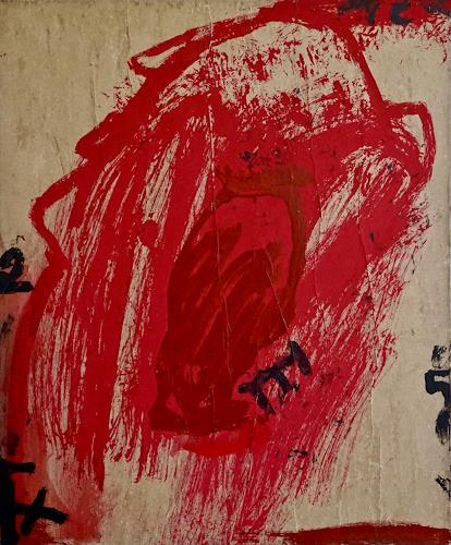 Rolf Blösch, Merlins Haus, Abstract art, Emotions: Love, Non-Objectivism [Informel]