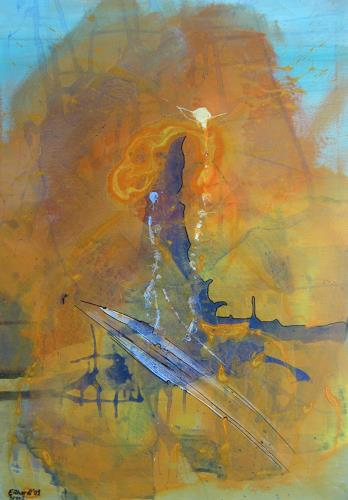 Detlev Eilhardt, Rostkarussell, Abstract art, Miscellaneous, Abstract Expressionism