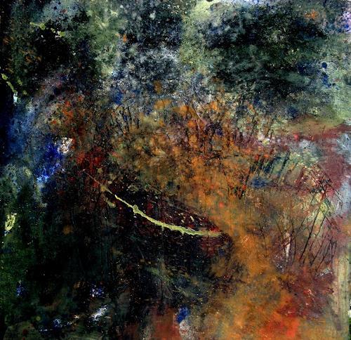 Detlev Eilhardt, Von innen nach außen, Abstract art, Movement, Abstract Expressionism