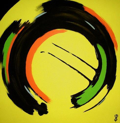 Detlev Eilhardt, Vegaz II, Abstract art, Game, Art Déco