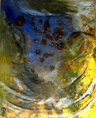 Detlev Eilhardt, MinneTaurus in Freiheit, Abstract art, Fantasy, Abstract Expressionism