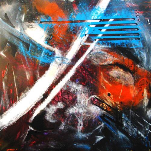 Detlev Eilhardt, Mein Armband ist kaputt, Abstract art, Symbol, Non-Objectivism [Informel]