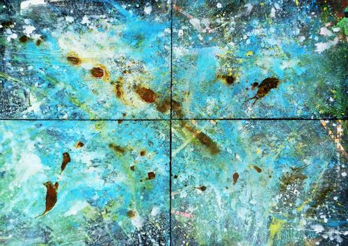 Detlev Eilhardt, ICE, Abstract art, Times: Future, Abstract Expressionism