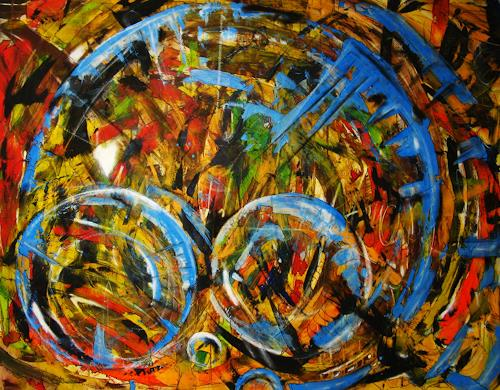 Detlev Eilhardt, Raum, Abstract art, Fantasy, Abstract Expressionism, Expressionism