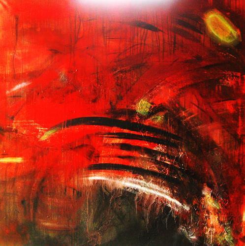 Detlev Eilhardt, Werner hustet, Abstract art, Humor, Non-Objectivism [Informel], Expressionism