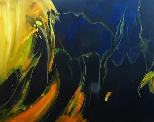Detlev Eilhardt, Medusa, Animals: Water, Poetry, Naturalism, Expressionism