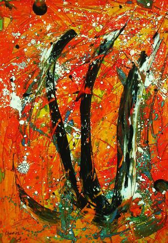 Detlev Eilhardt, Die Dreifaltigkeit, Belief, Abstract art, Abstract Expressionism, Expressionism