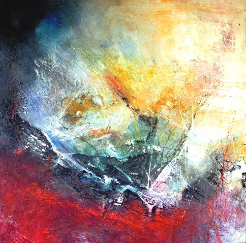 Detlev Eilhardt, Der Anfang einer Reise, Abstract art, Symbol, Abstract Expressionism, Expressionism