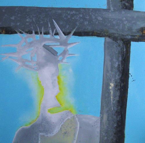 Detlev Eilhardt, Weg der Hoffnung, Belief, Symbol, Symbolism, Abstract Expressionism