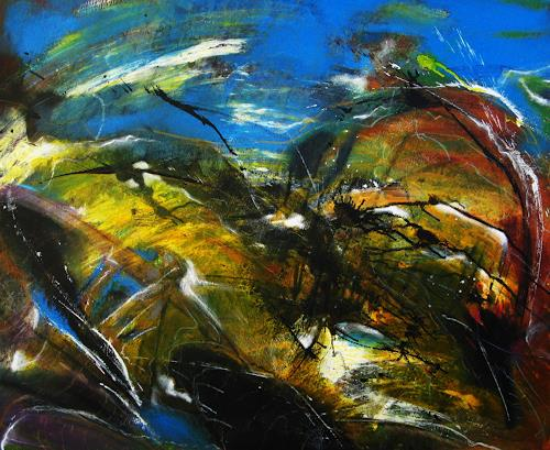 Detlev Eilhardt, Das Kinem, Abstract art, Fantasy, Abstract Expressionism