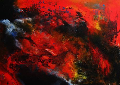 Detlev Eilhardt, Der schönste Tag in meinem Leben, Abstract art, Poetry, Abstract Expressionism