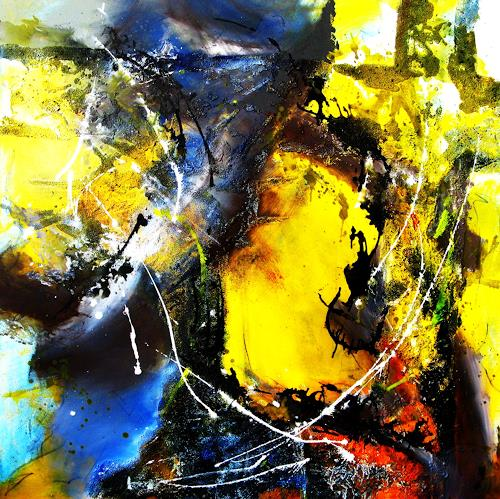 Detlev Eilhardt, 78 Tage, Abstract art, Religion, Abstract Expressionism