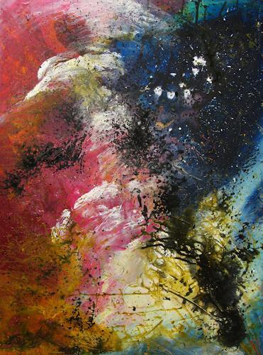 Detlev Eilhardt, Die Umwälzung, Abstract art, Belief, Abstract Expressionism