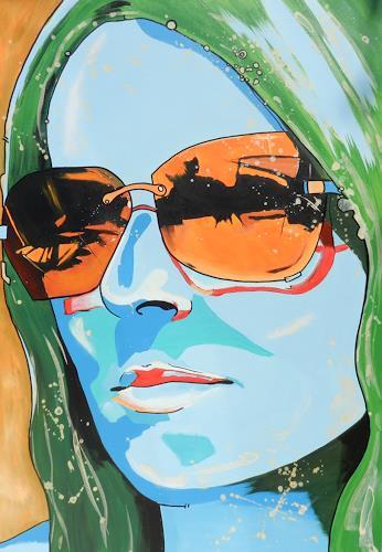 Detlev Eilhardt, Was kommt, People: Women, People: Portraits, Pop-Art, Expressionism